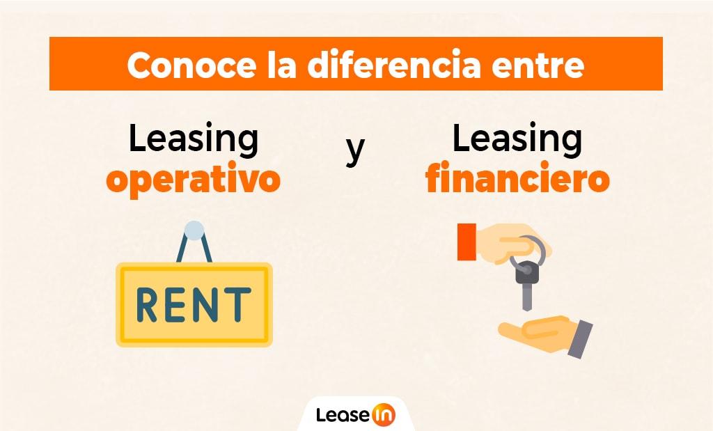 diferencia entre leasing financiero y leasing operativo