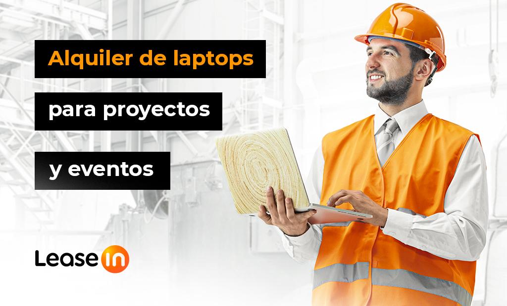 Alquiler de laptops para proyectos y eventos