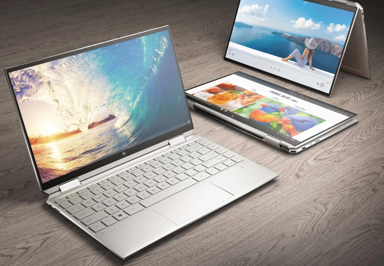 HP Spectre x360 laptop ingeniería