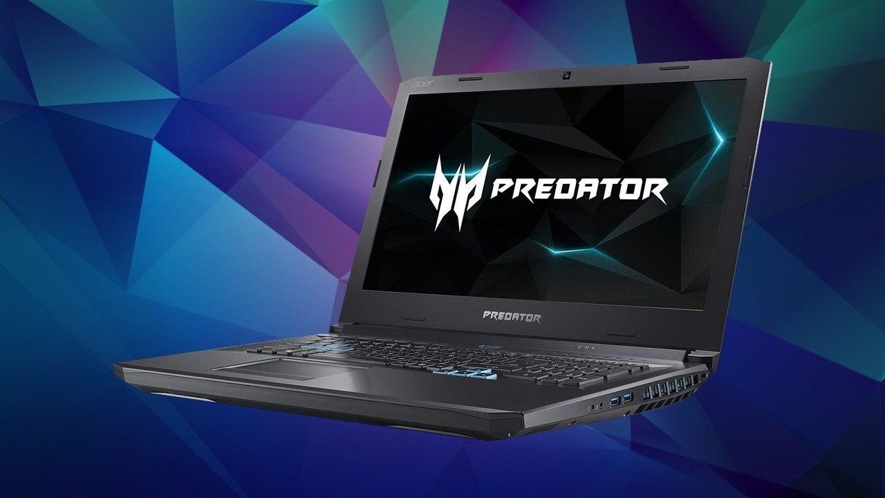 Laptop Acer Helios 500 PH517 diseño 3D modelado renderizado
